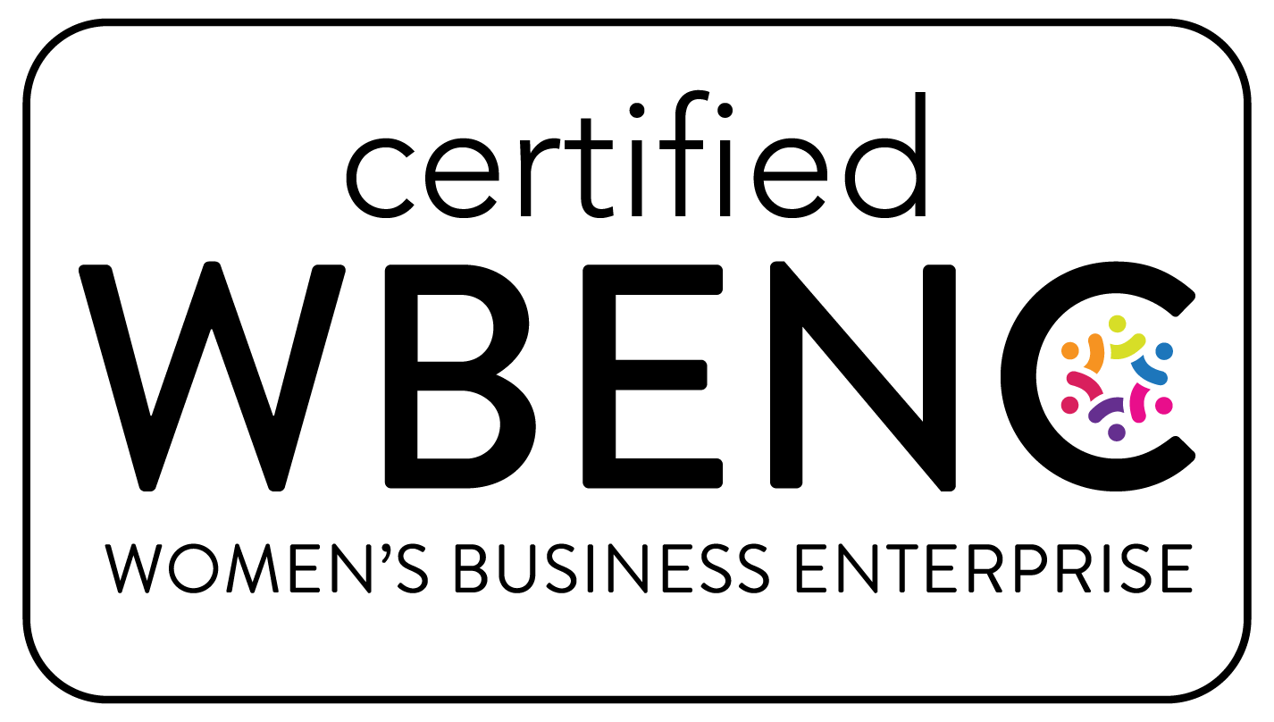 certified by the Women's Business Enterprise National Council